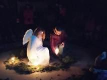 Anděl jako z plátna