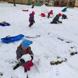 Stavíme sněhuláky