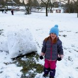 Obrovitá sněhová koule
