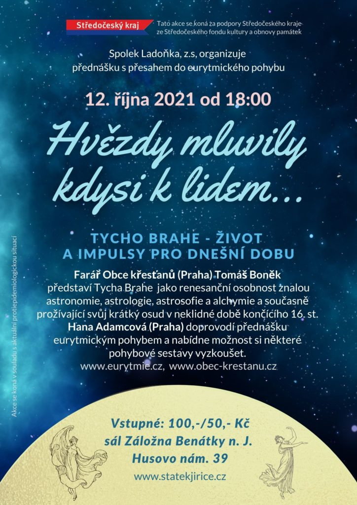 Pozvánka na přednášku Tycho Brahe